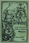 Pasir Panjang School 1966 magazine cover
