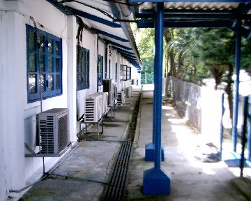 Bourne School with air-con