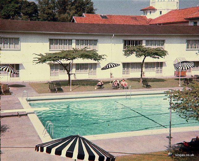 Scott horton for Raffles hotel singapore swimming pool